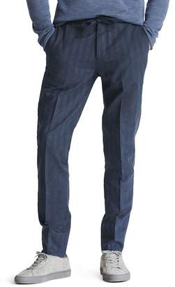 Bonobos Flat Front Cotton & Linen Blend Trousers