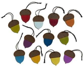 Design Ideas Sherwood Acorns Shaped Ornament