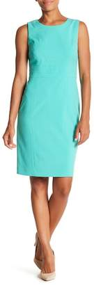 Nine West Paneled Sleeveless Sheath Dress