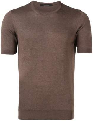 Tagliatore classic plain T-shirt
