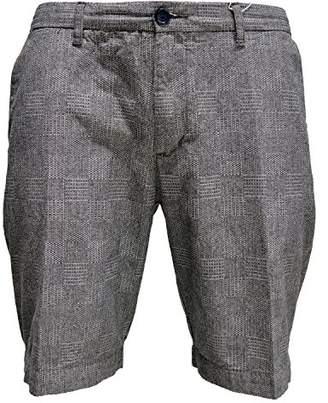 Ben Sherman Men's Mix Texture Checkerboard Short