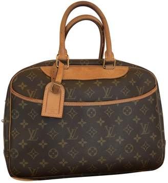 Louis Vuitton Deauville cloth handbag