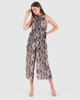 Cooper St Rosetta High Neck Jumpsuit