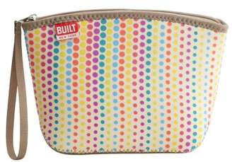 Built NY Neoprene City Clutch with Wrist Strap Candy Dot, Lunch Bag