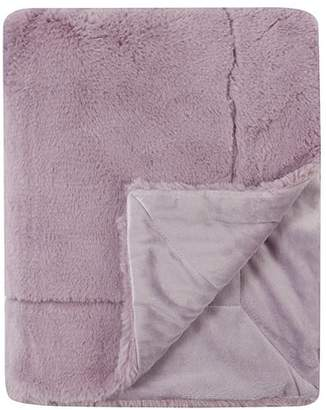 George Home Super Soft Heiwa Faux Fur Throw