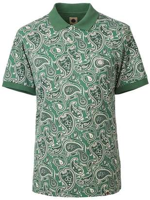 Pretty Green Paisley Print Polo Shirt