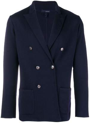 Lardini double-breasted blazer cardigan