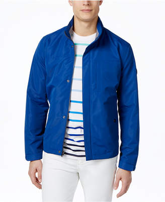 Michael Kors Men's Polytech Stand-Collar Hipster Windbreaker Jacket