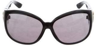 Gucci Oversize Logo Sunglasses