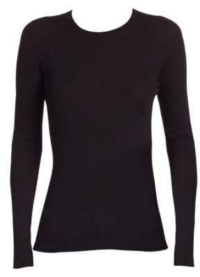 Theory Mirzi Refined Merino Wool Sweater