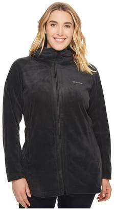 Columbia Plus Size Benton Springstm II Long Hoodie Women's Sweatshirt