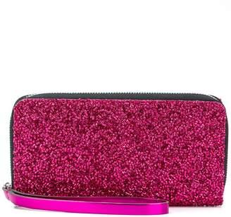 MM6 MAISON MARGIELA beaded zip purse