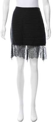 The Row Tiered Mini Skirt