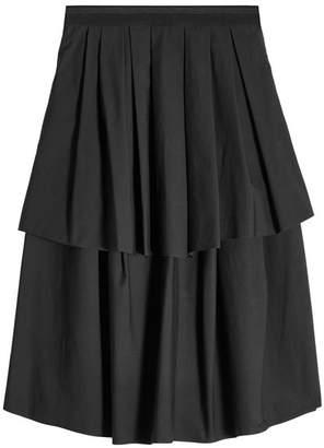 Brunello Cucinelli Tiered Cotton Skirt