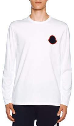 Moncler Men's Long-Sleeve Crewneck T-Shirt