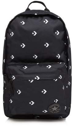 Converse Black Chevron Star Print Backpack
