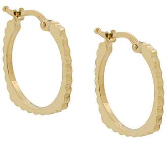 ALIITA 9kt yellow gold Aro Rueda B earrings