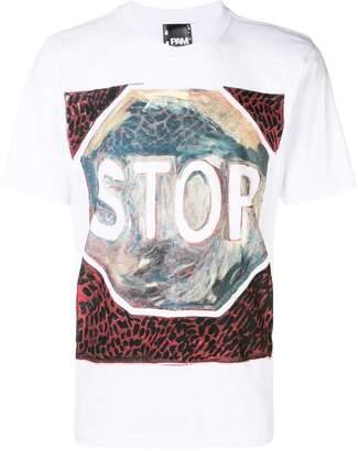 Perks And Mini Pam stop print T-shirt