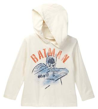 Junk Food Clothing Batman Fighter Hooded Tee (Toddler Boys)