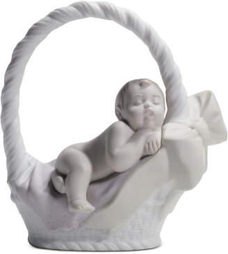 Lladro (リヤドロ) - Lladro Newborn Girl Figurine