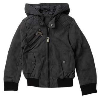 Urban Republic Faux Suede and Leather Jacket (Big Boys)