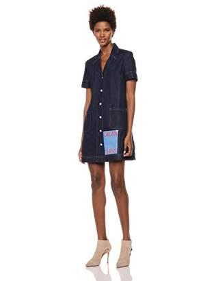 52f2c533cbe Calvin Klein Jeans Women s Short Sleeve Denim Dress