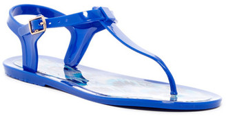 Nicole Miller Monsoon Jelly Sandal $29 thestylecure.com