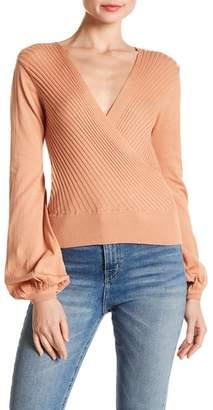 MinkPink Wide Rib Sweater