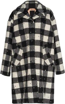 N°21 N 21 Cristina Heavy Check Flannel Coat