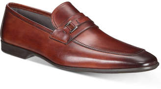 Massimo Emporio Men's Strap Leather Bit Moc-Toe Loafers, Created for Macy's Men's Shoes