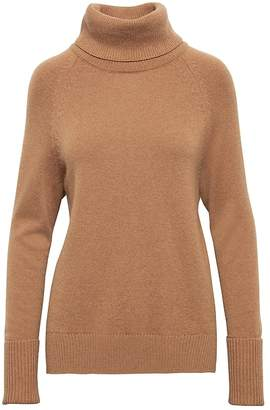Banana Republic Cashmere High-Low Hem Turtleneck Sweater