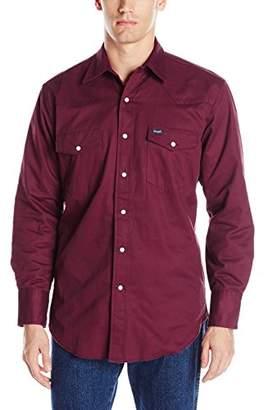 Wrangler Men's Flannel Lined Workshirt
