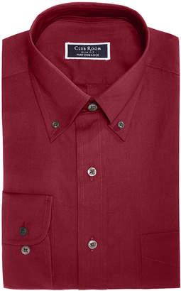 Club Room Men Slim-Fit Stretch Wrinkle-Resistant Pinpoint Solid Dress Shirt