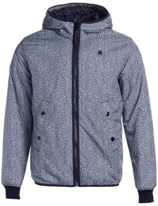 G Star Raw Whistler Herringbone Hooded Jacket