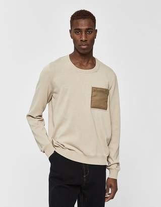 Maison Margiela Pocket Crewneck Sweater