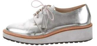 Loeffler Randall Callie Metallic Oxfords