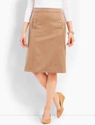 Talbots Flannel A-Line Skirt