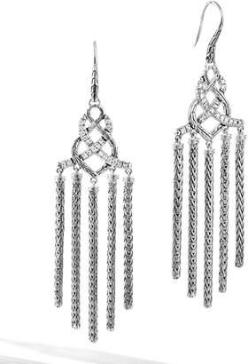 John Hardy Diamond Chandelier Earrings