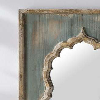 Bungalow Rose Olly Painted Wooden Full Length Mirror