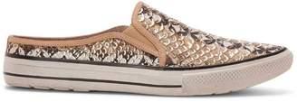 Donald J Pliner URSA, Parker Snake Print Mule Sneaker