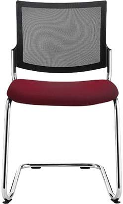STOCKEXPRESS Office Chairs M101 Stacker, Diami Red
