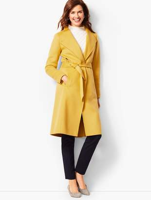 Talbots Belted Double-Face Coat