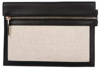 Victoria Beckham Leather Moonshine Clutch