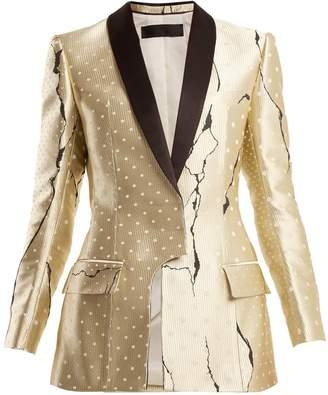 Haider Ackermann Polka-dot jacquard jacket