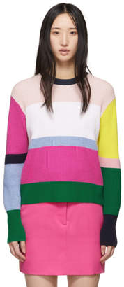Kenzo Multicolor Tiger Crest Sweater