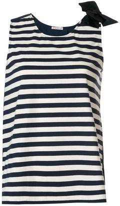 Moncler striped bow vest top