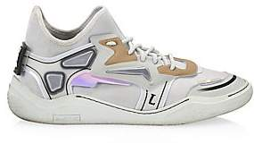 Lanvin Men's Neoprene Reflective Runners
