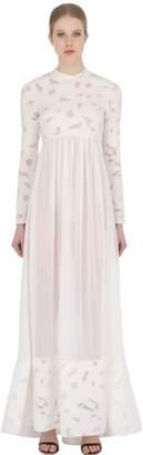 Francesco Scognamiglio Cotton Fil Coupe Gown