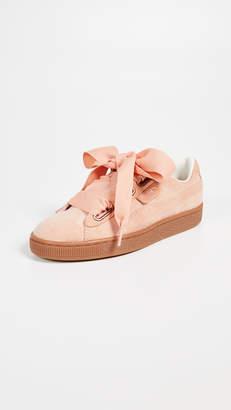 Puma Basket Heart Corduroy Sneakers