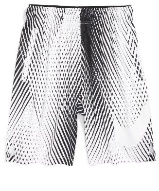 Boy's Nike Logo Dri-Fit Shorts $35 thestylecure.com